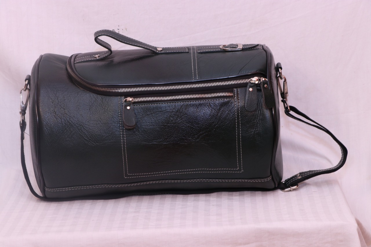 100% Genuine Pure Leather Gym Bags for Men and Women made by ... 6518446d0f