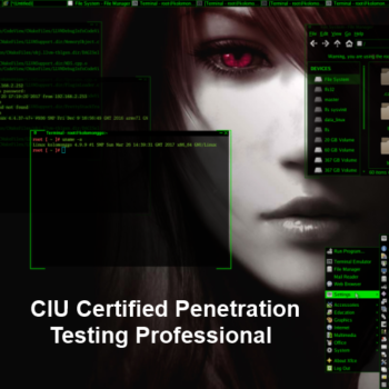 CIU Certified Penetration Testing Professional