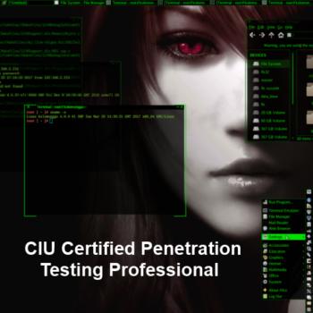 CIU Certified Penetration Testing Professional